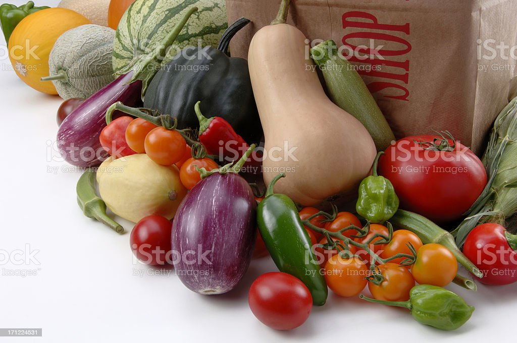 Produce royalty-free stock photo