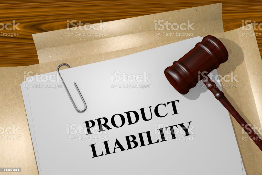 Product Liability concept stock photo