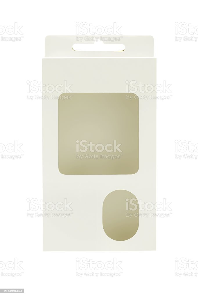 Product Package Box stock photo