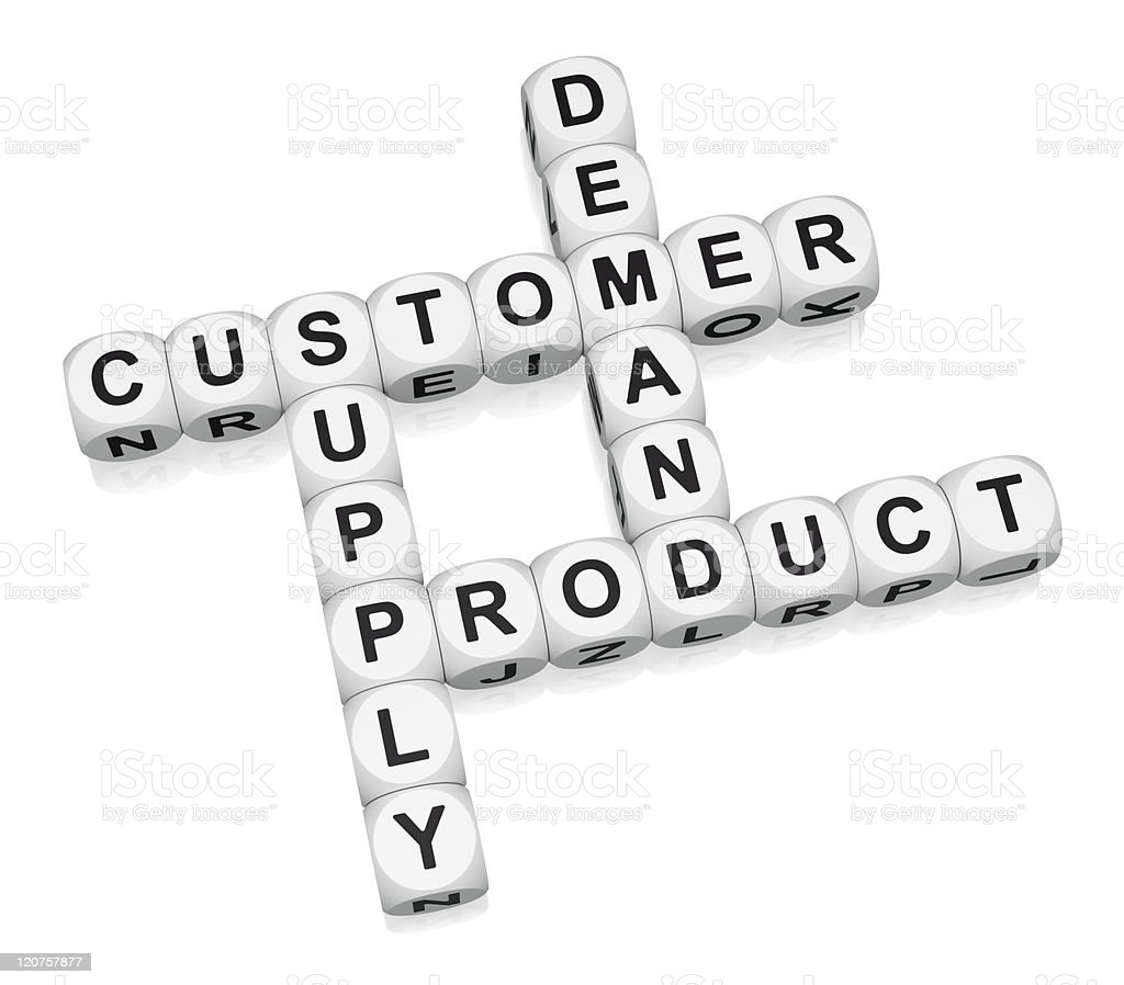Product retail cycle stock photo