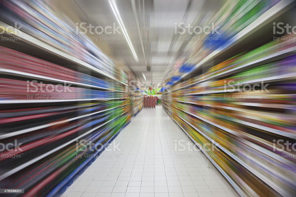 product shelf royalty-free stock photo