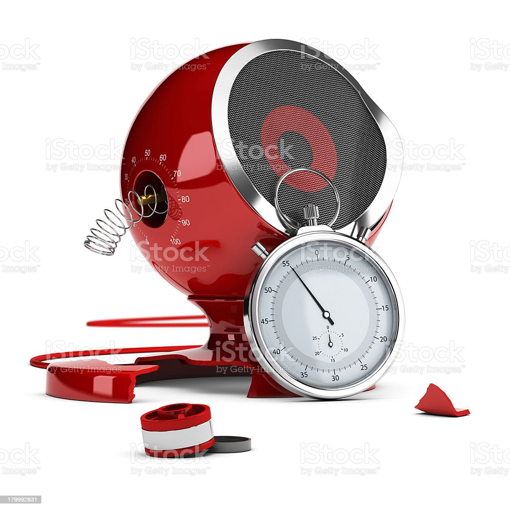 Product Testing Concept - Crash Test royalty-free stock photo