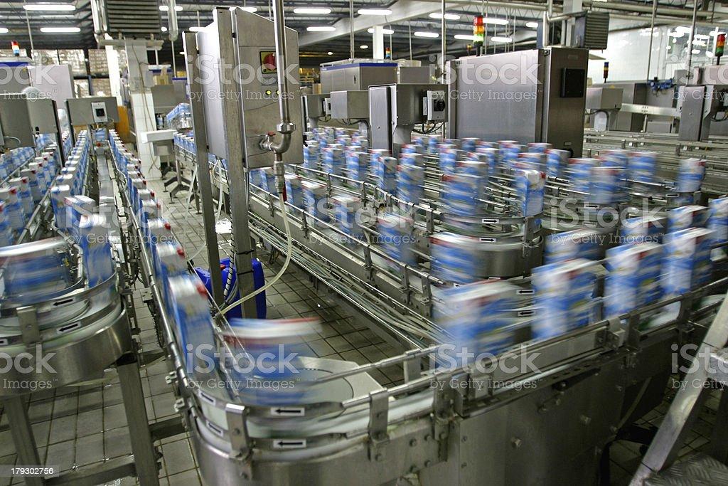 Production line stock photo