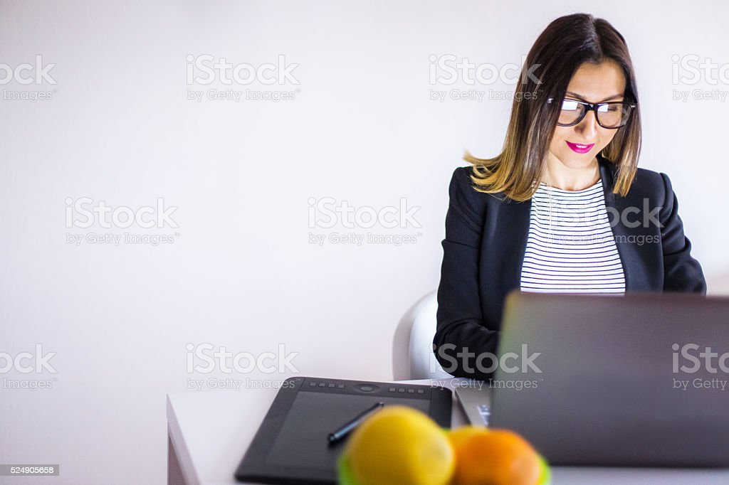 Productive And Super Organized stock photo