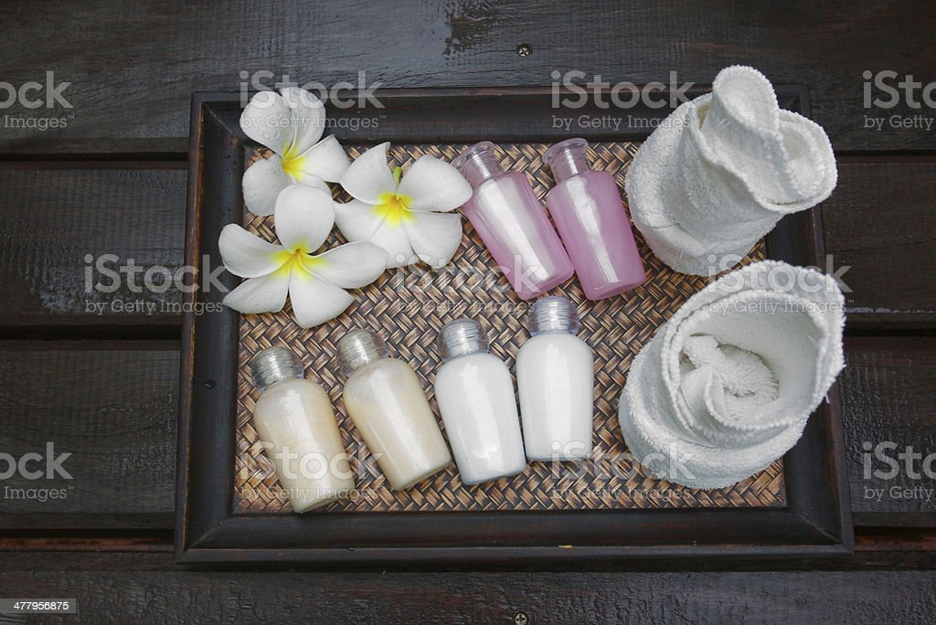 products for spa stock photo