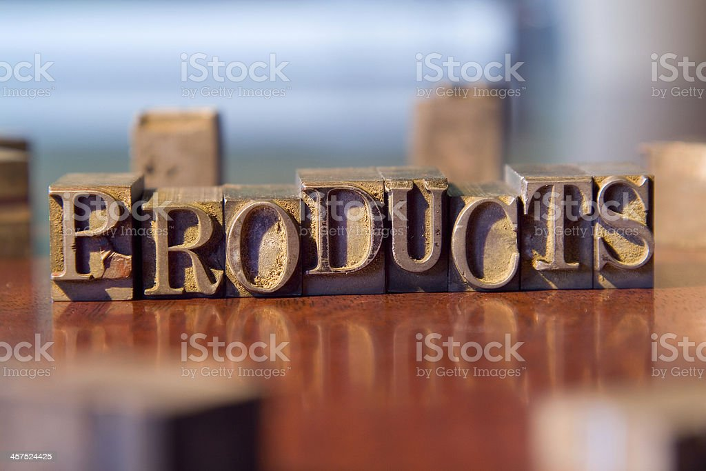 Products royalty-free stock photo