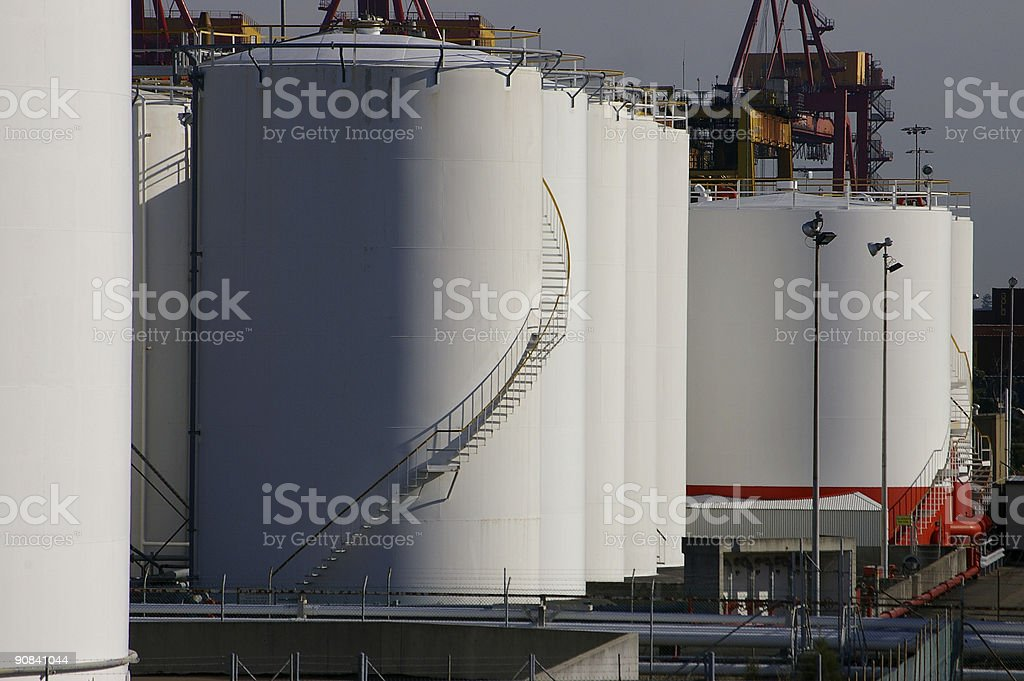 Products tanks royalty-free stock photo