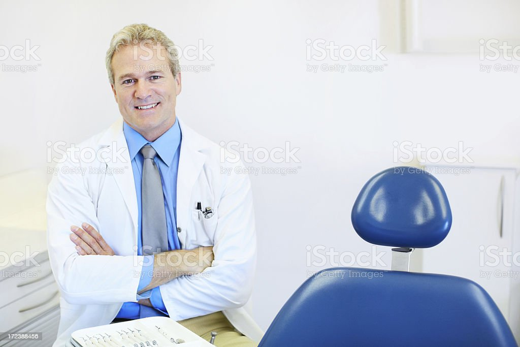 Professional and friendly royalty-free stock photo