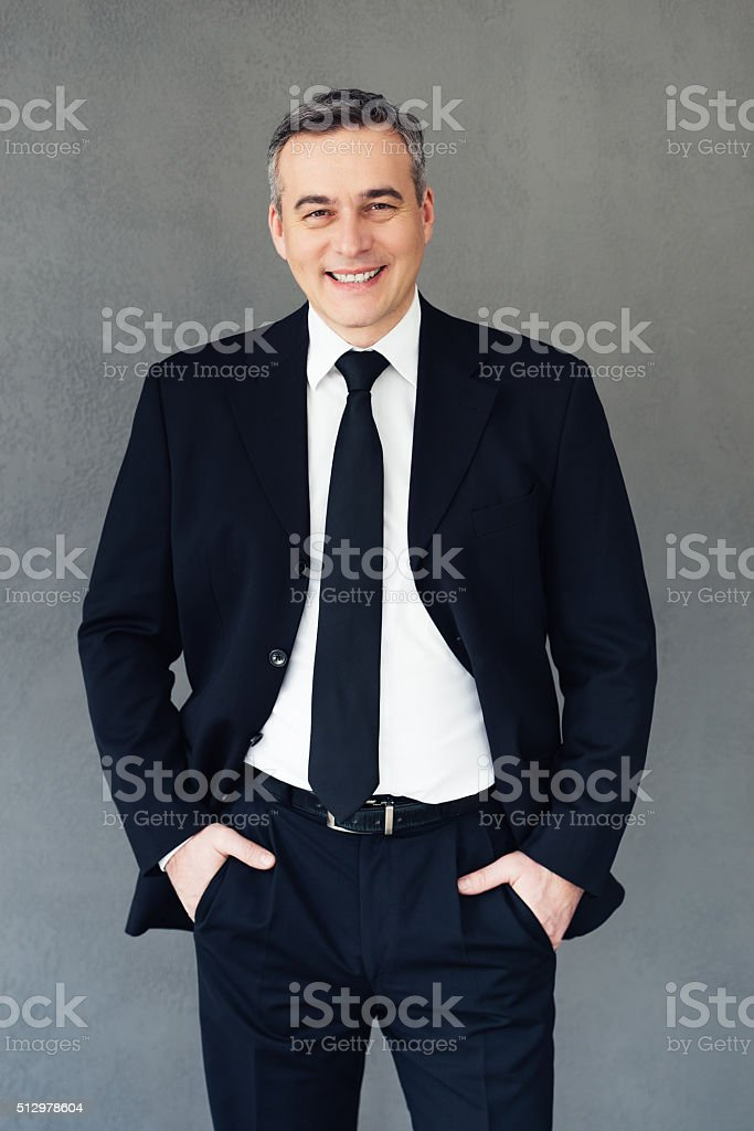 Professional and successful. stock photo