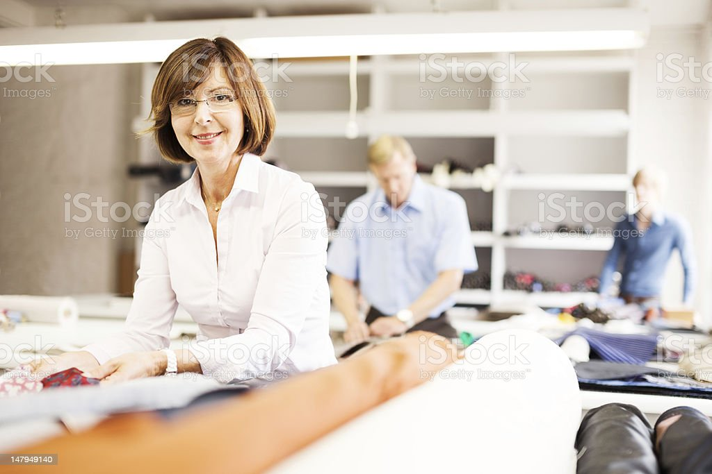 professional at work royalty-free stock photo