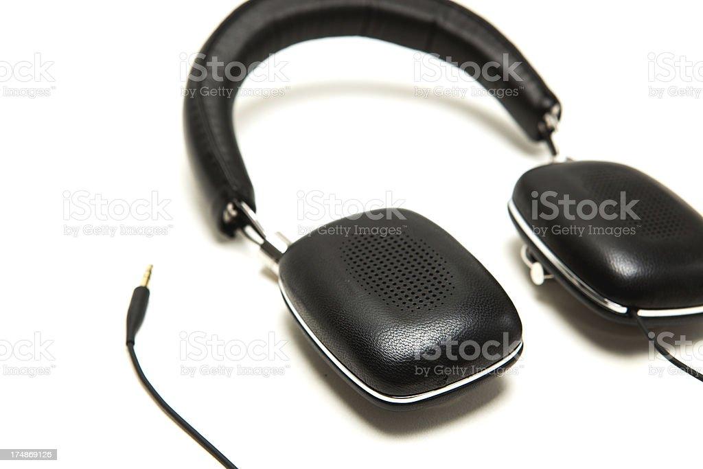 Professional Audio Headphones royalty-free stock photo