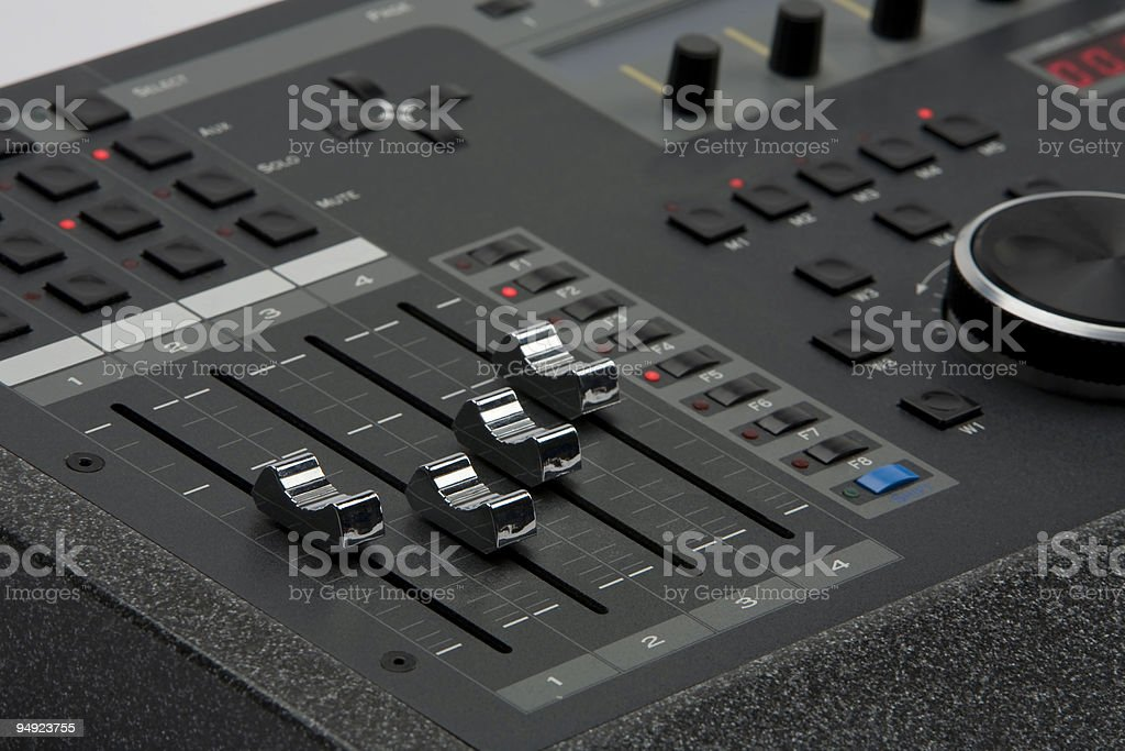 Professional Audio Studio Control Surface