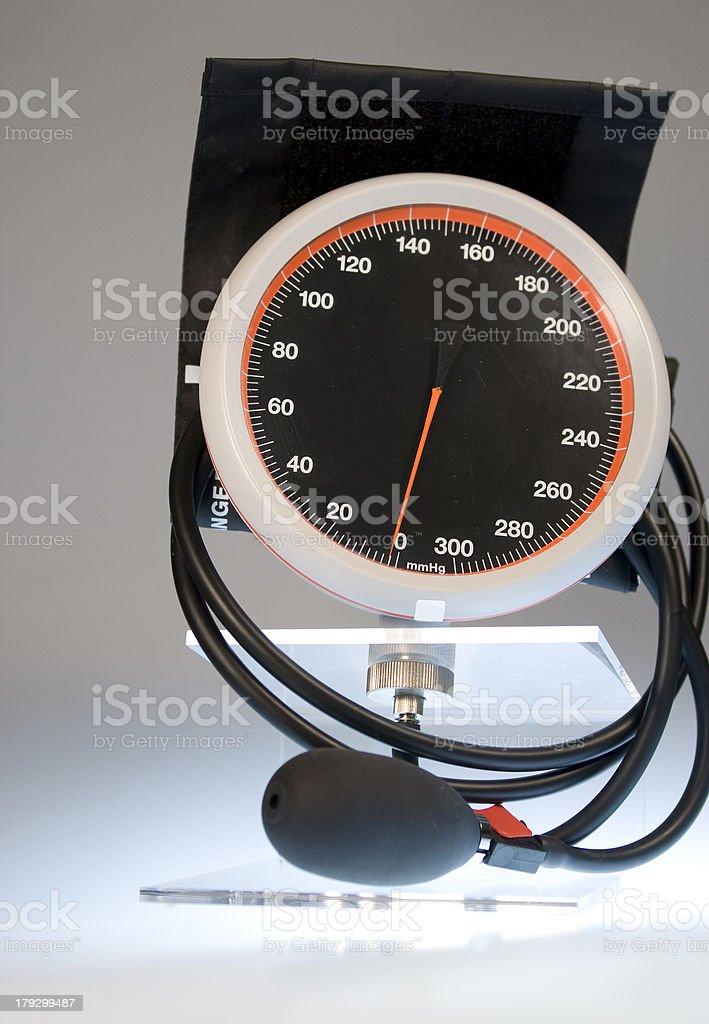 Professional blood pressure gauge stock photo