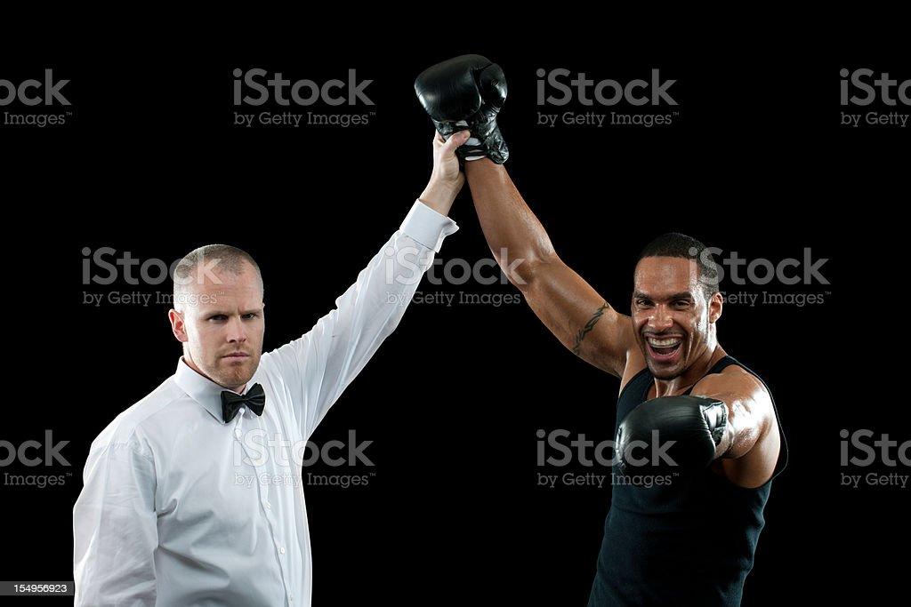 Professional Boxer stock photo