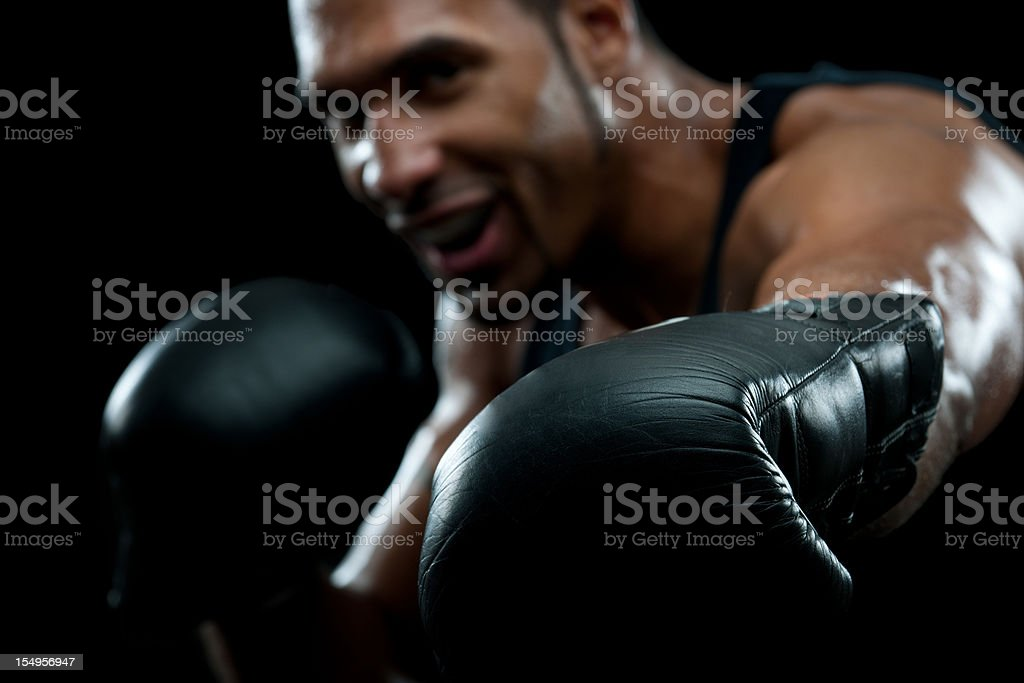 Professional Boxer royalty-free stock photo
