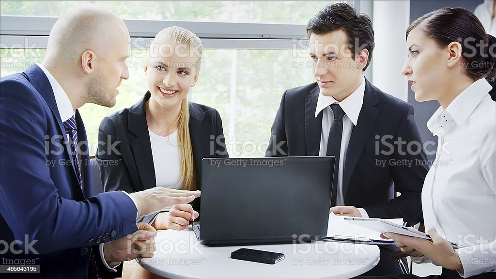 Professional Business People royalty-free stock photo