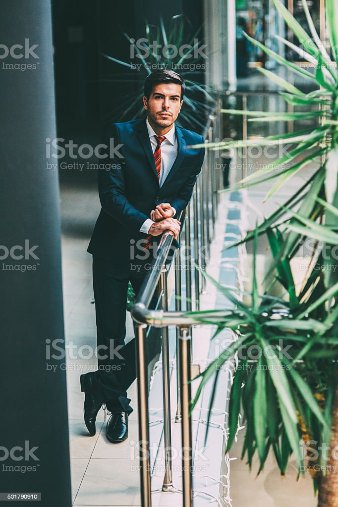 Professional Businessman stock photo