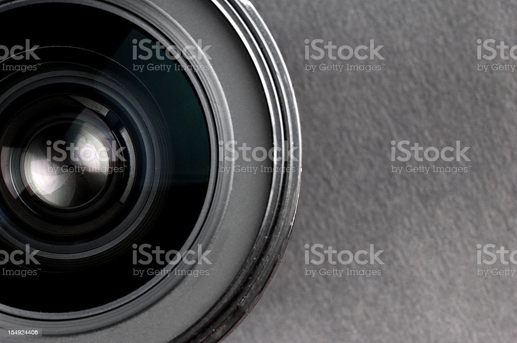 Professional Camera Lens royalty-free stock photo