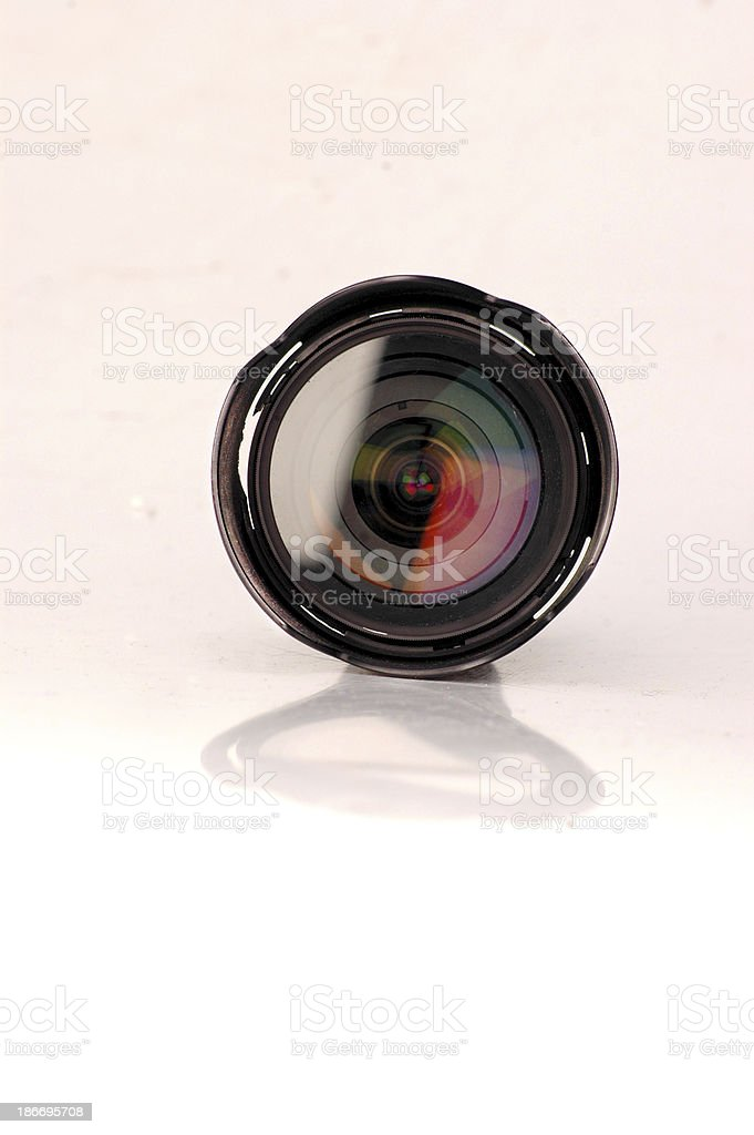 Professional Camera Lens stock photo