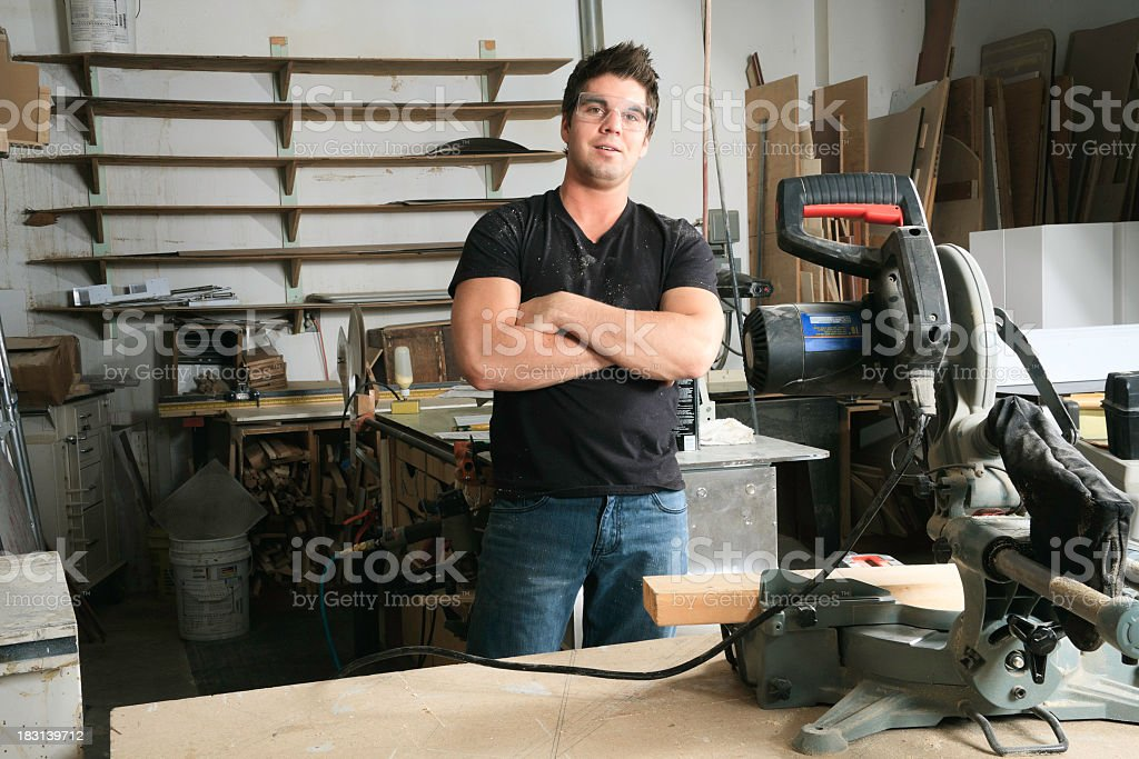 Professional Carpentry royalty-free stock photo