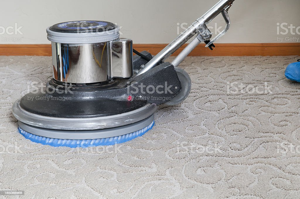 Professional Carpet Cleaner royalty-free stock photo