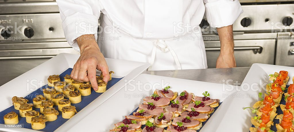 Professional Chef royalty-free stock photo