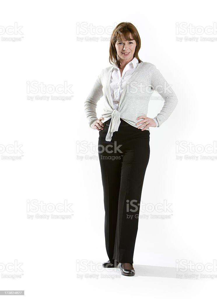 professional confidence royalty-free stock photo