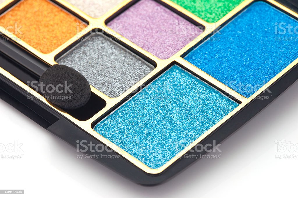 Professional cosmetic accessories royalty-free stock photo