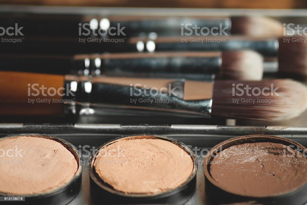 Professional cosmetic. stock photo