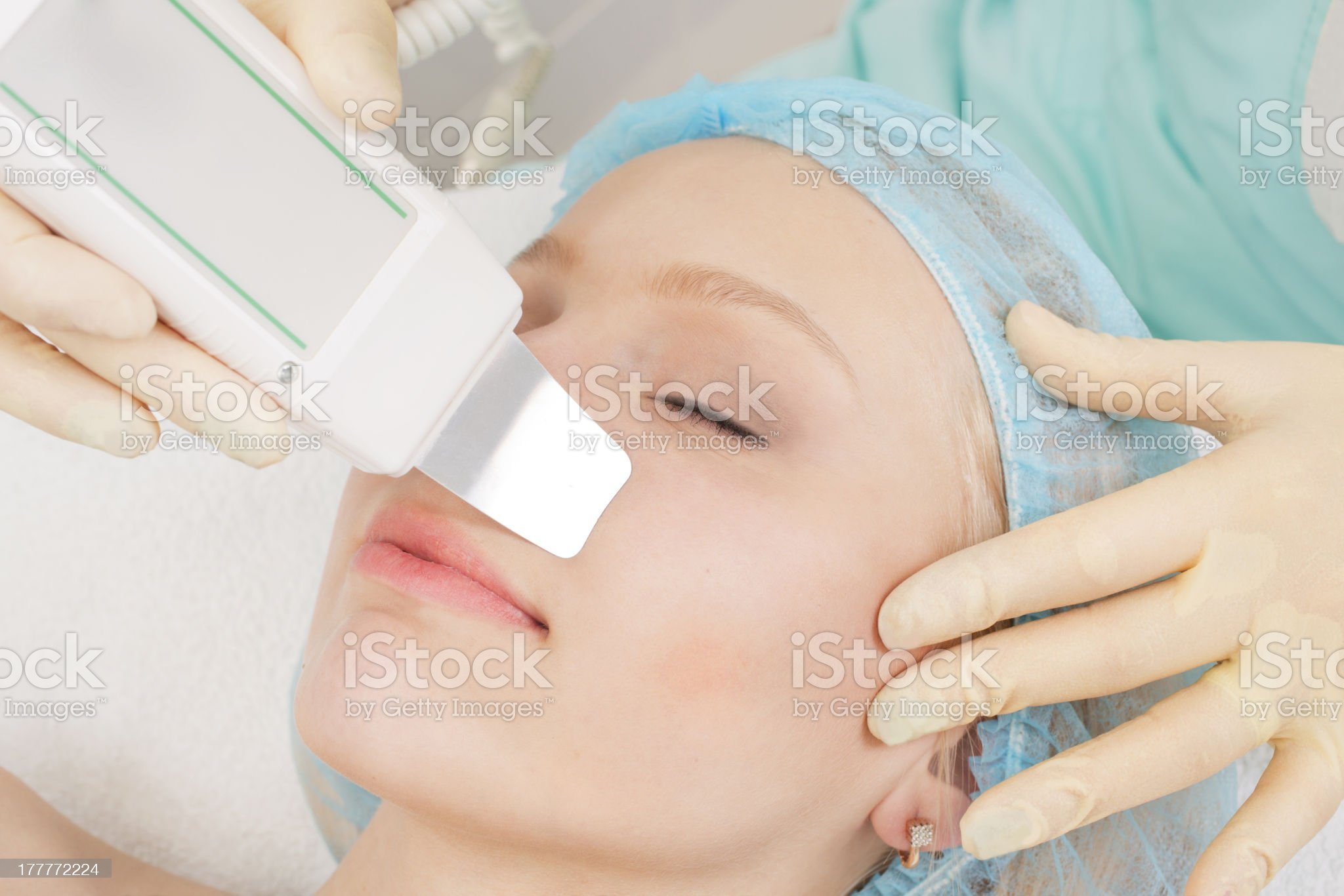 professional cosmetic skin care royalty-free stock photo
