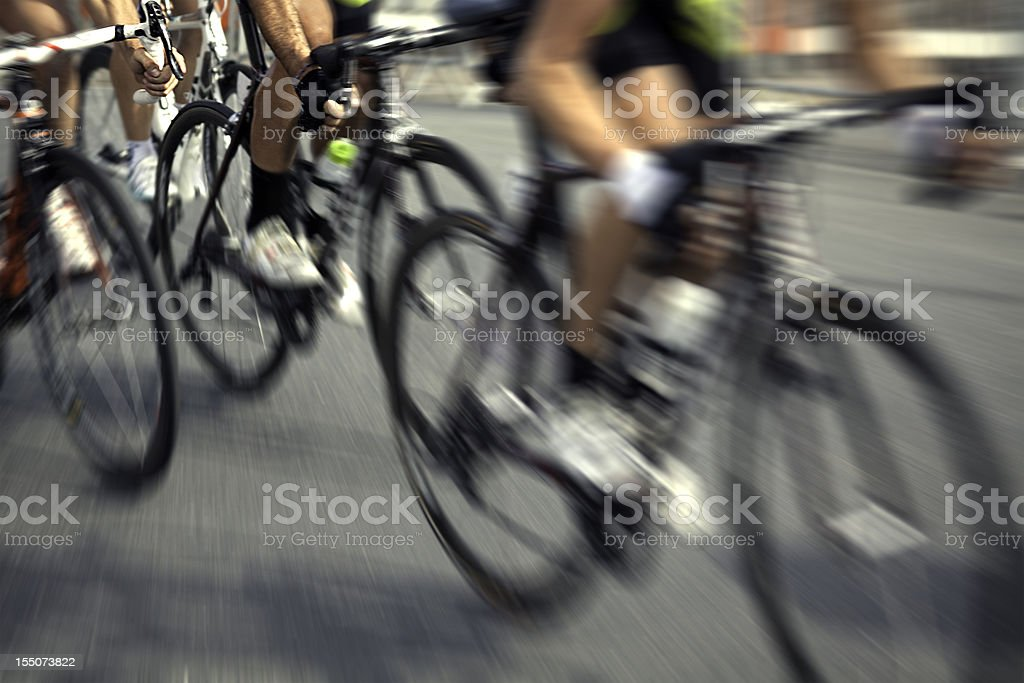 Professional Cycling Race stock photo