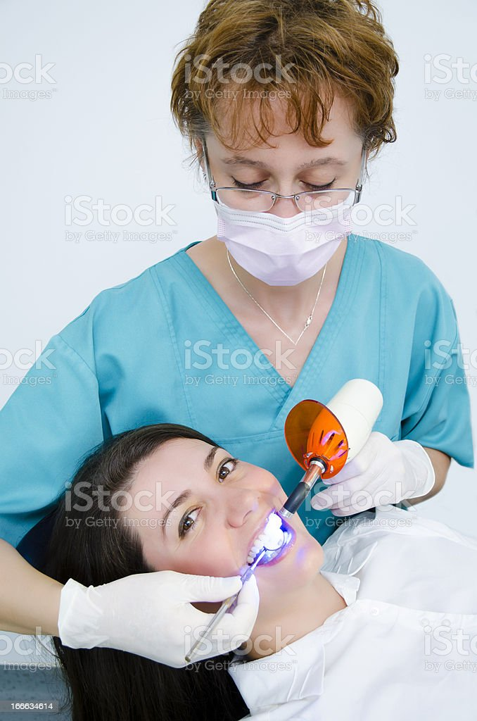Professional Dental Tools royalty-free stock photo