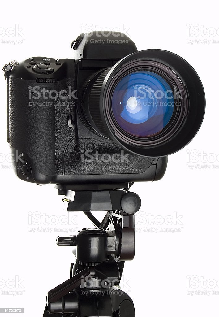 Professional digital camera royalty-free stock photo