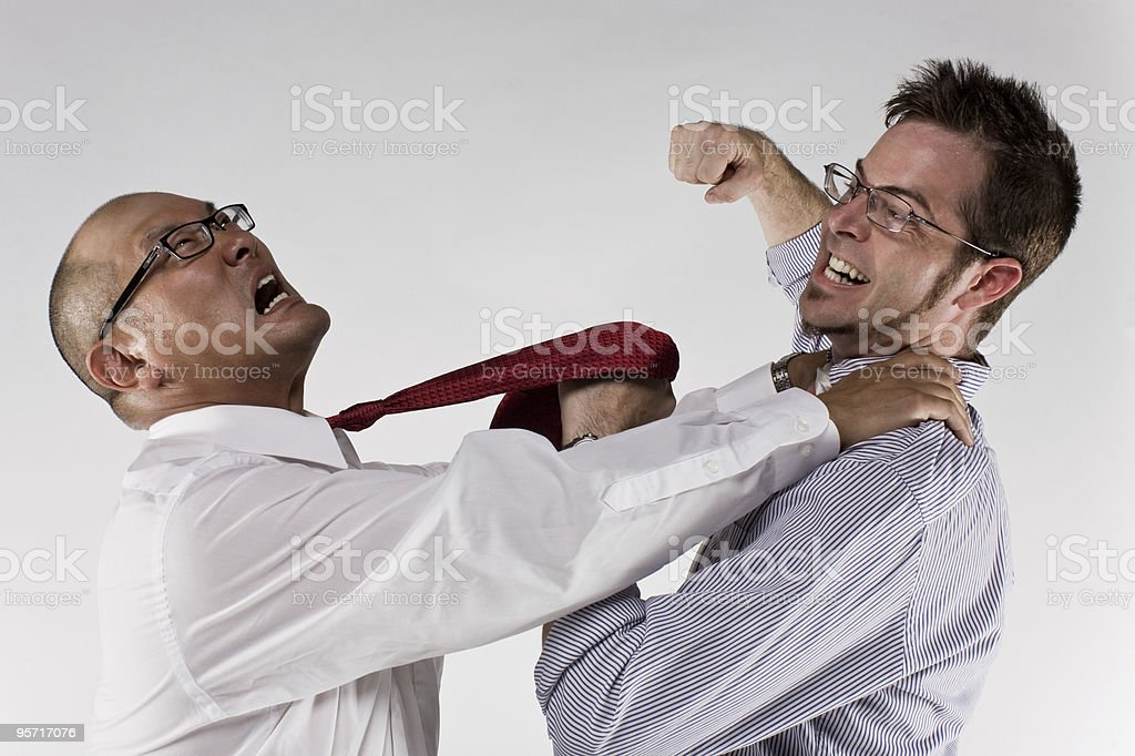 Professional Disagreement stock photo