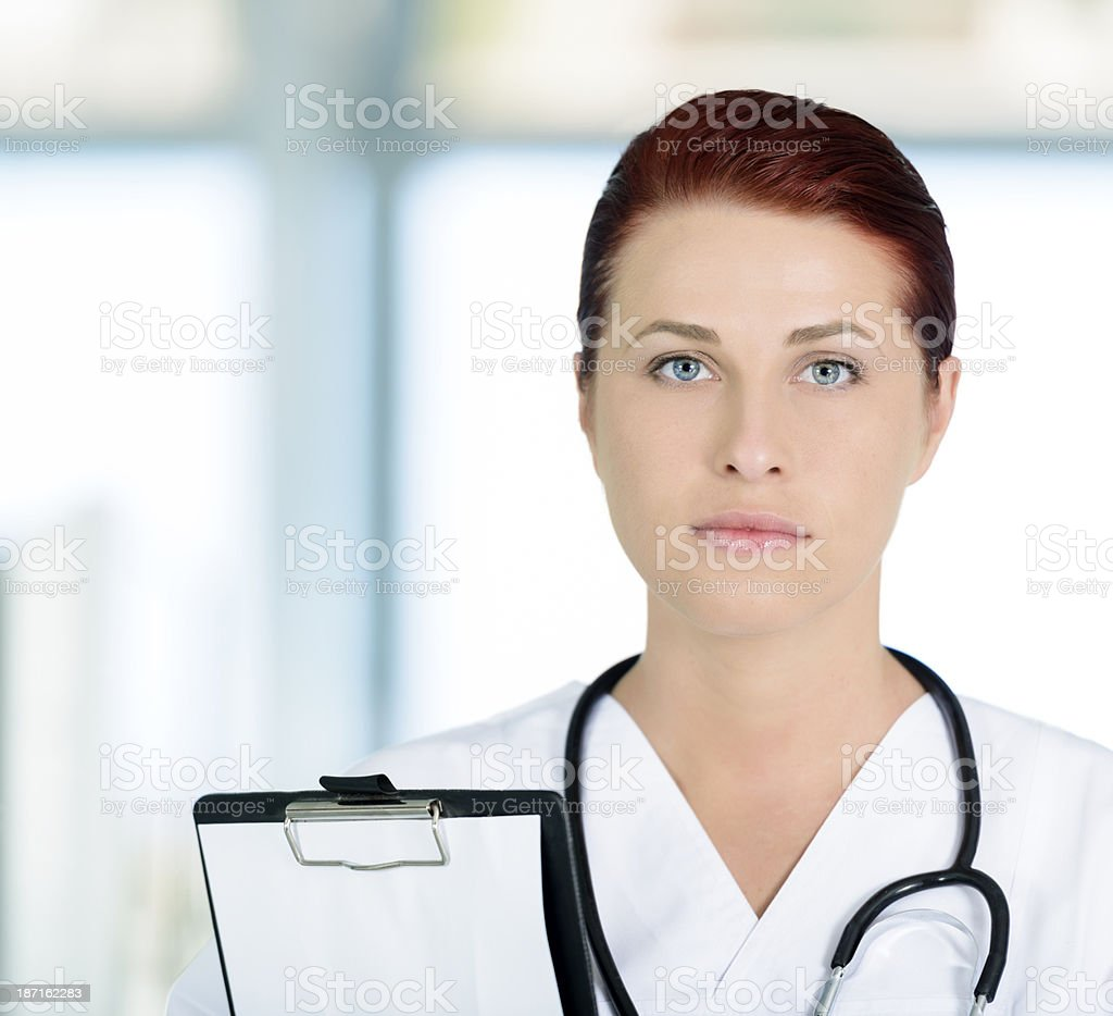 professional doctor royalty-free stock photo