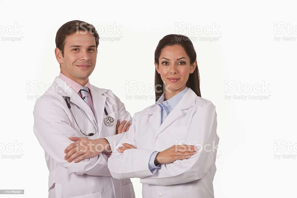 Professional Doctor Team royalty-free stock photo