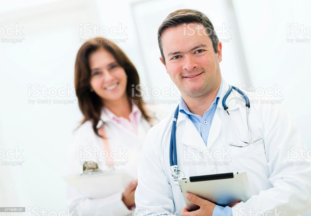 professional doctors royalty-free stock photo