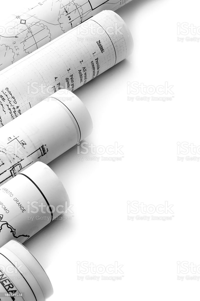 Professional Drawings royalty-free stock photo