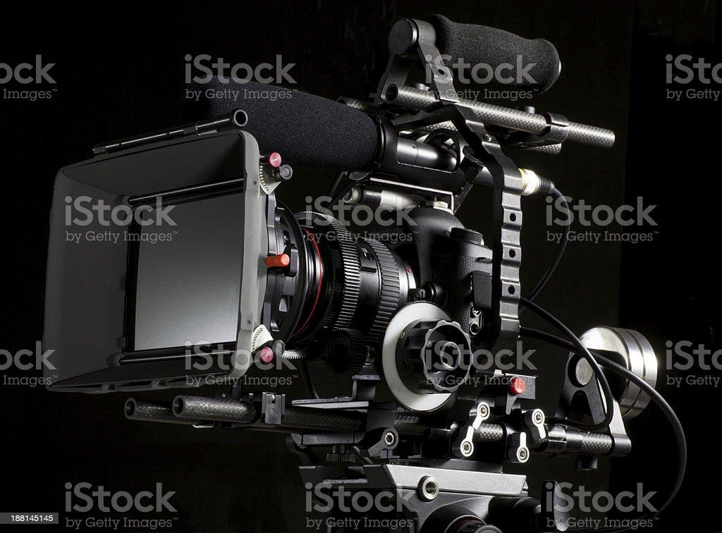 Professional DSLR Camera stock photo