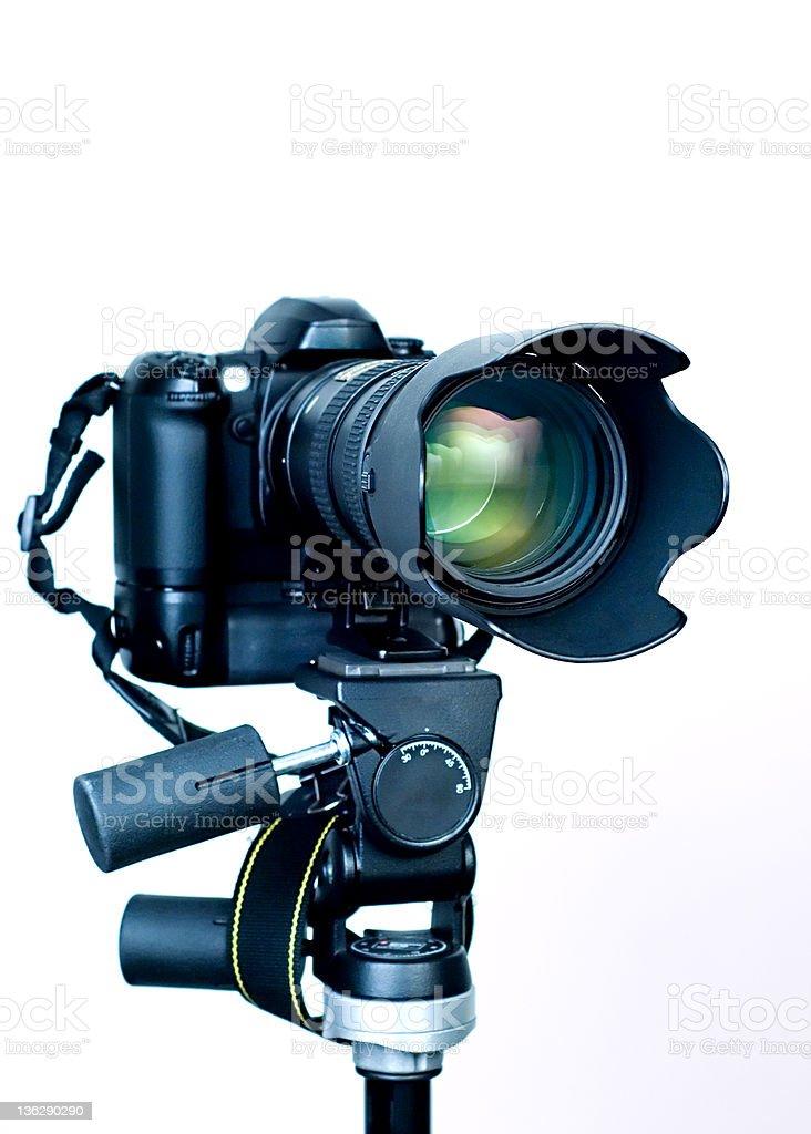 Professional DSLR royalty-free stock photo