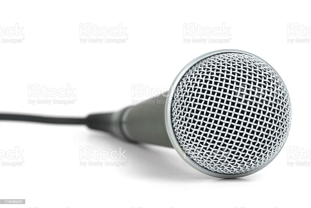 Microfone dinâmico profissional foto de stock royalty-free