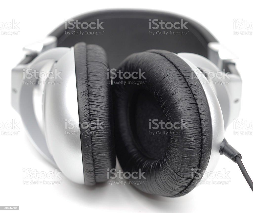 Professional Earphones stock photo