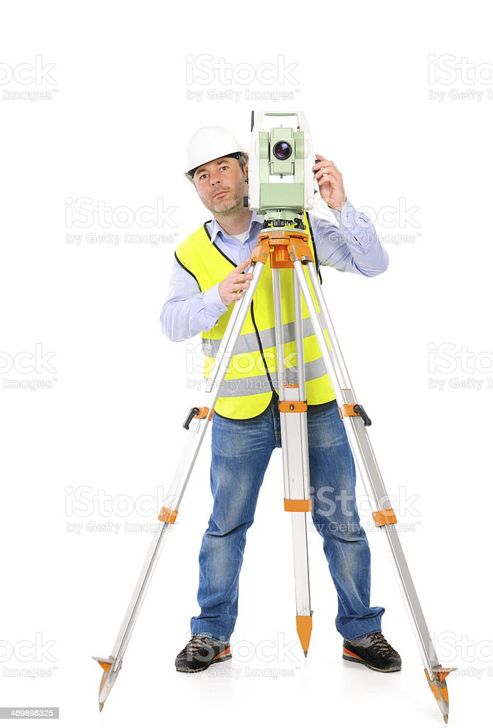 professional engineer royalty-free stock photo