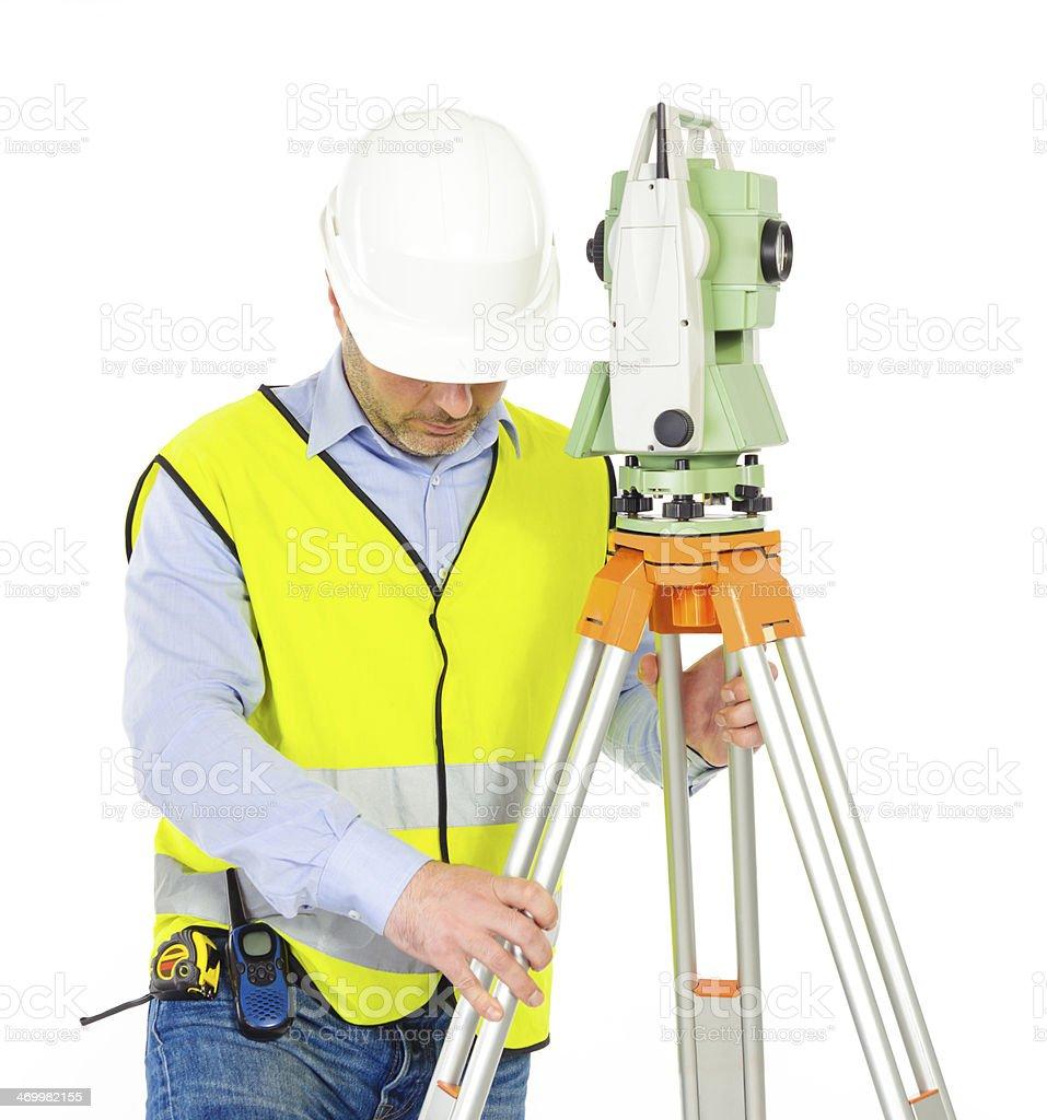 professional engineer royalty-free stock photo