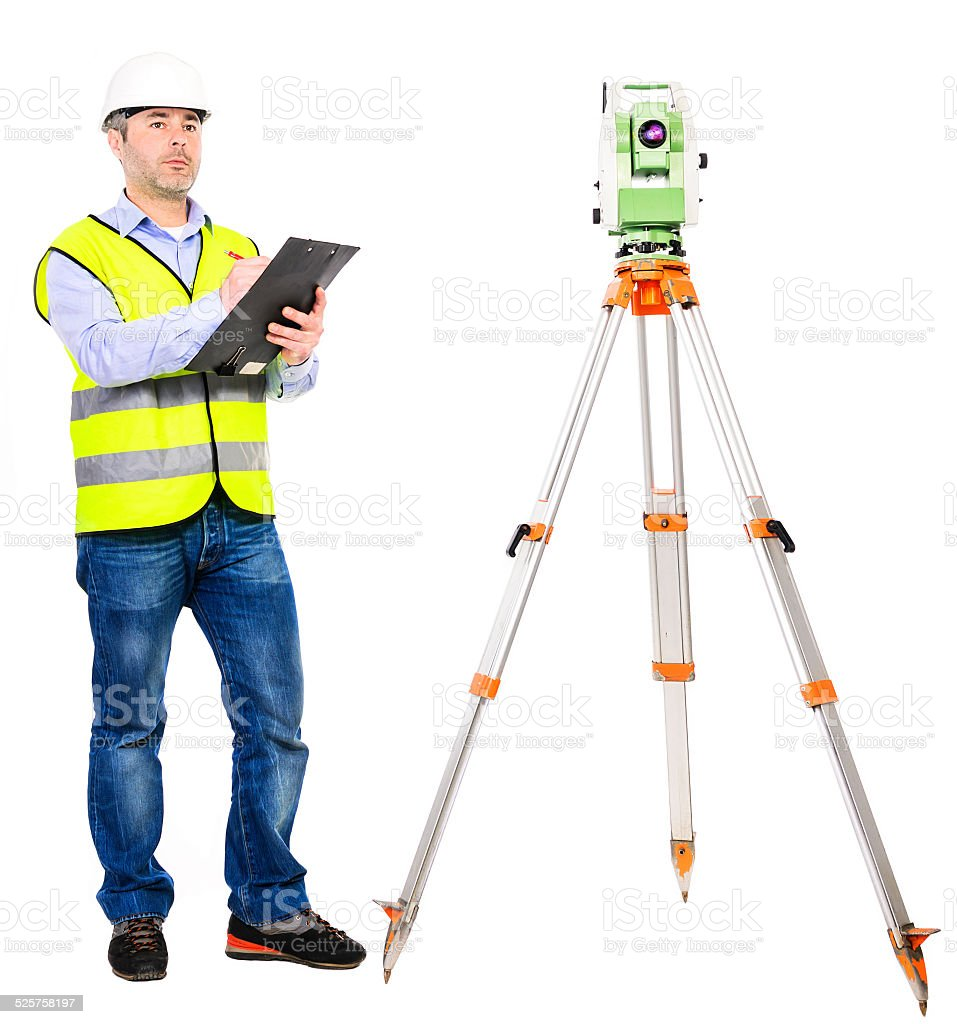 professional engineer working stock photo