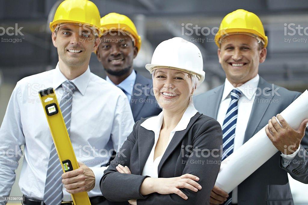 Professional engineers stock photo