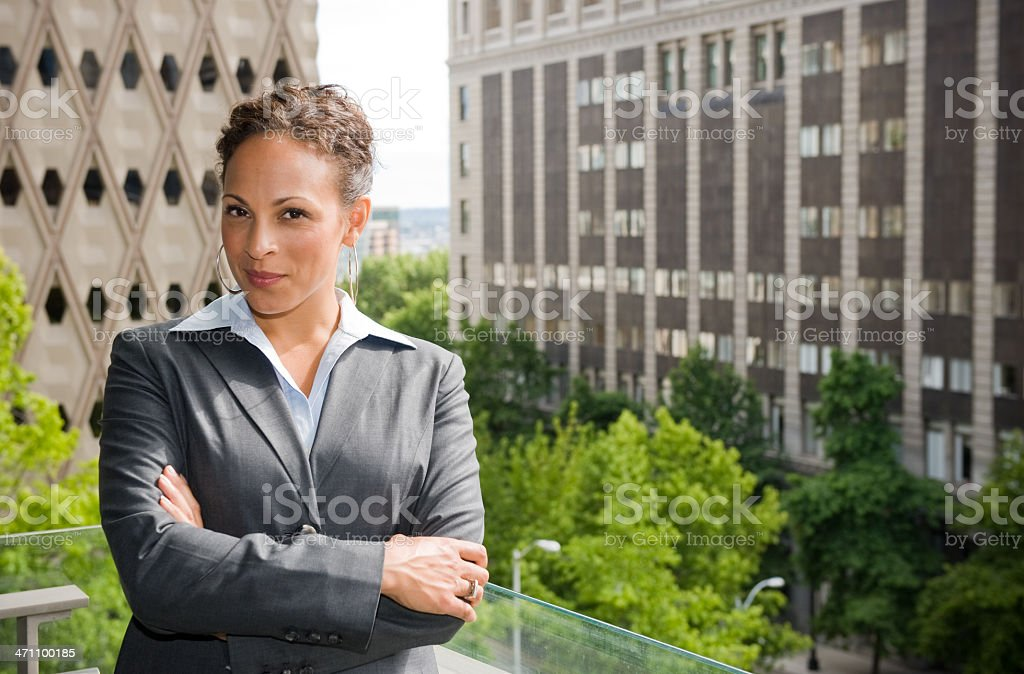 Professional Female royalty-free stock photo