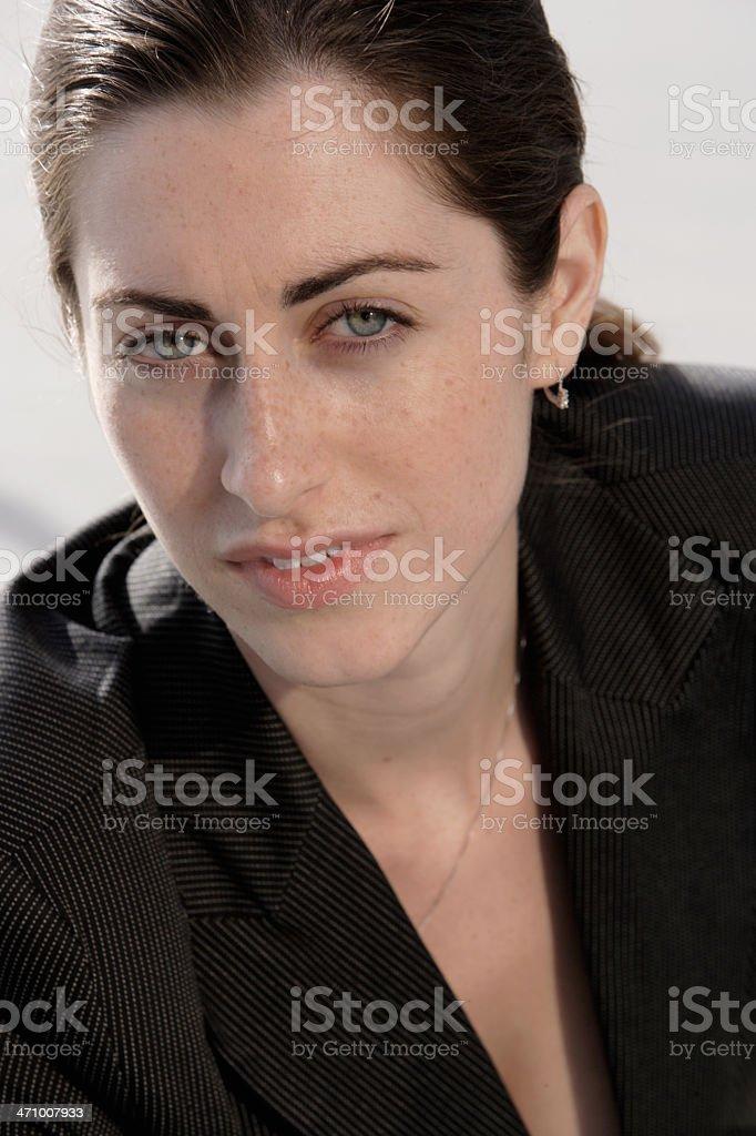 Professional female portrait 05 stock photo
