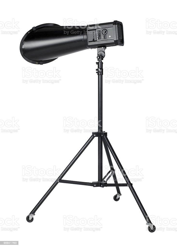 professional flashlight royalty-free stock photo