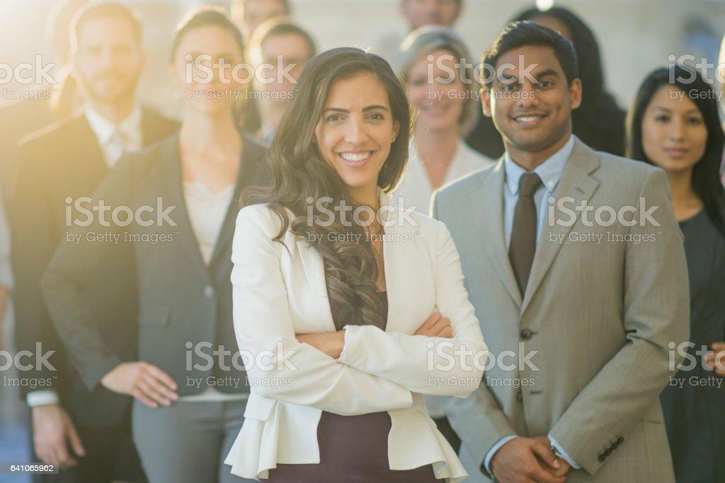 Professional Group stock photo